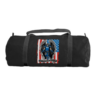 St. Michael Police Defend Us in Battle Duffle Bag