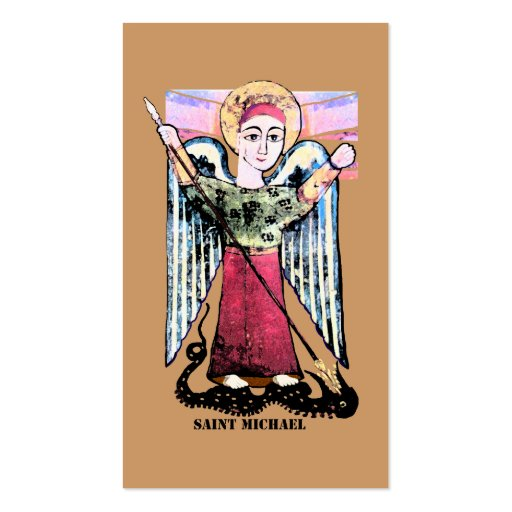 St Michael prayer card Double-Sided Standard Business Cards (Pack Of 100)