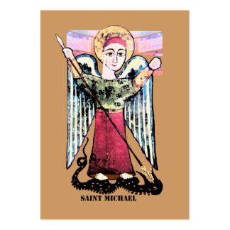 St Michael prayer Large Business Card