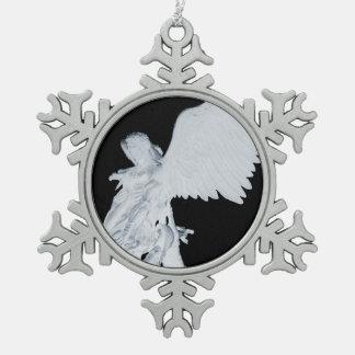 St. Michael (Reversed) Pewter Ornament