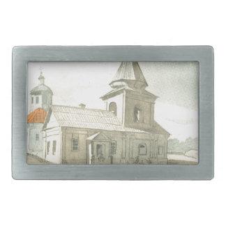St. Michael`s church in Pereiaslav-Khmelnytskyi Belt Buckle