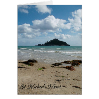 St michaels mount greeting cards zazzle st michaels mount marazion cornwall england card m4hsunfo