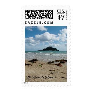 St Michael's Mount Marazion Cornwall England Postage