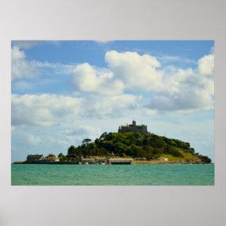 St Michael's Mount Marazion Cornwall England Poster