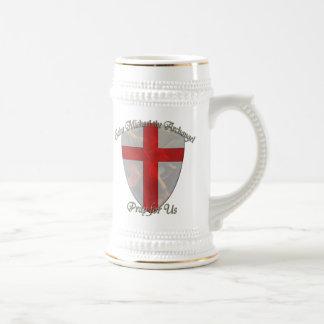 St Michael - Shield Beer Stein