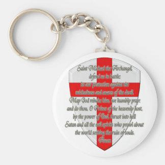 St Michael - Shield Keychain