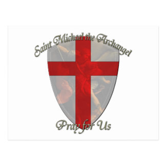 St Michael - Shield Postcard