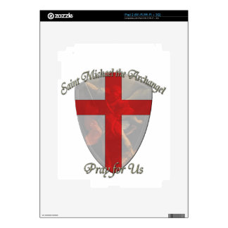 St Michael - Shield Skin For iPad 2