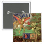St. Michael Slaying the Dragon Pinback Buttons