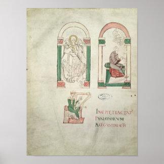 St. Michael, St. Augustine and St. David Print