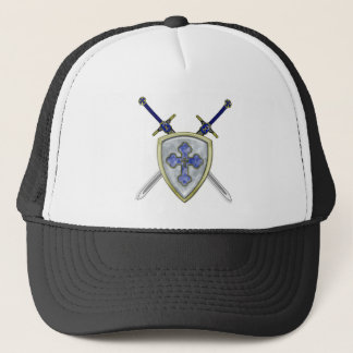 St Michael - Swords and Shield Trucker Hat