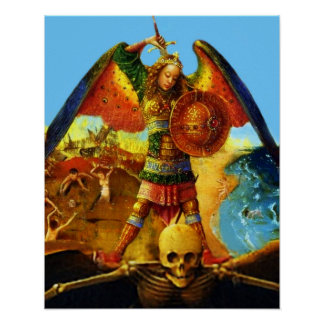St Michael the Archangel 50 Poster A