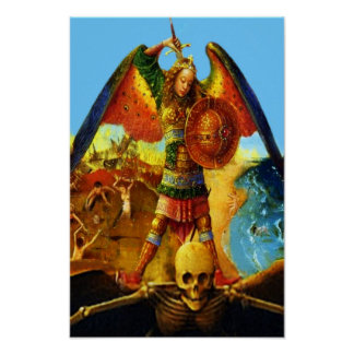 St Michael the Archangel 50 Poster B