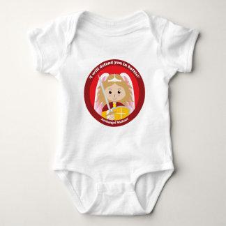 St. Michael the Archangel Baby Bodysuit