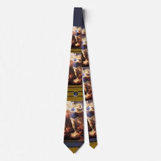 St. Michael the Archangel, Blue Topaz Tie