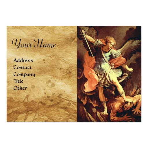 St. Michael the Archangel Business Cards