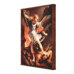 St. Michael the Archangel by Reni Good vs Evil Canvas Print