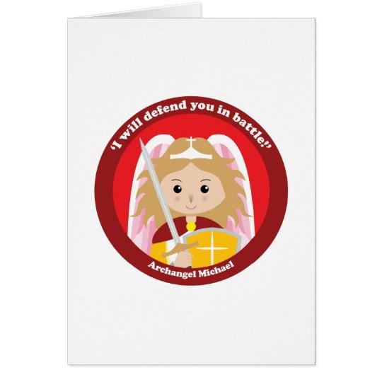 St. Michael the Archangel Card