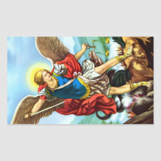 St Michael the Archangel Catholic Angel Stickers