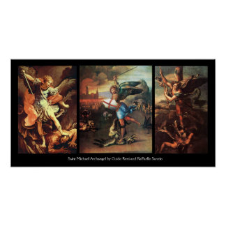 St MICHAEL THE ARCHANGEL COLLECTION Print