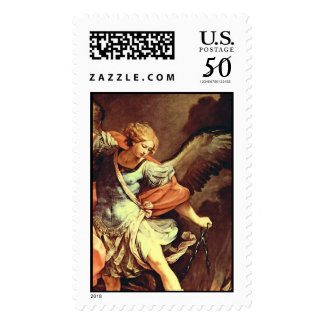 St. Michael the Archangel ,detail Postage