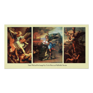 St MICHAEL THE ARCHANGEL FINE ART COLLECTION Poster