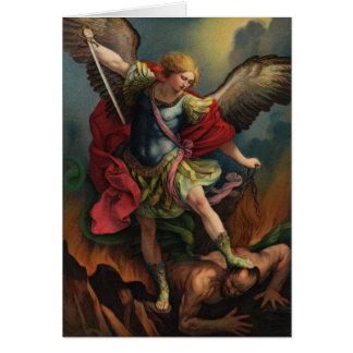 St. Michael the Archangel Folded Card