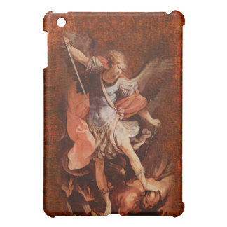 St. Michael the Archangel Good versus Evil Cover For The iPad Mini