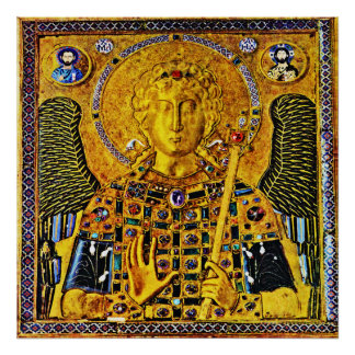St Michael the Archangel Icon Angel Poster