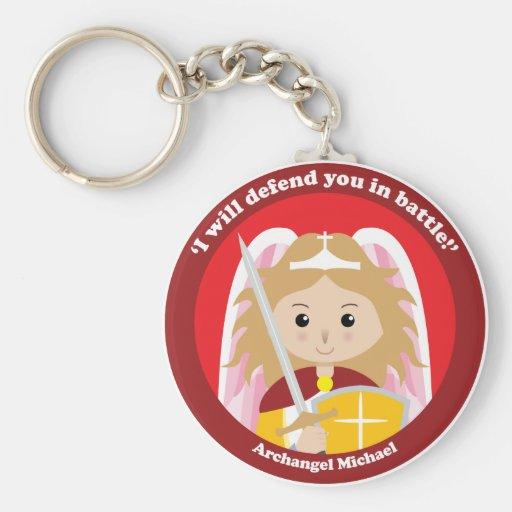 St. Michael the Archangel Key Chain