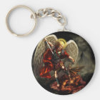 St. Michael the Archangel Keychain
