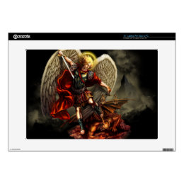 St. Michael the Archangel Laptop Decal