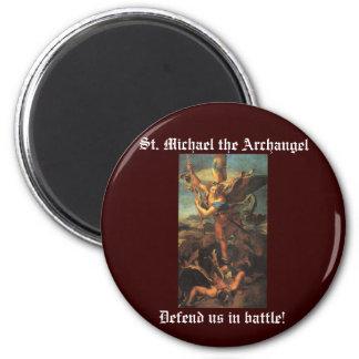 St. Michael the Archangel Refrigerator Magnets