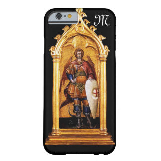 St. Michael the Archangel Monogram Barely There iPhone 6 Case