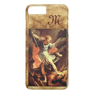 St. Michael the Archangel Monogram iPhone 7 Plus Case