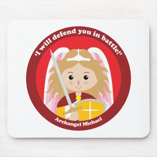 St. Michael the Archangel Mouse Pad