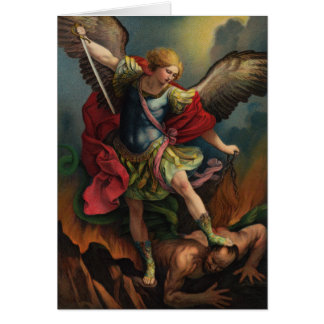 St. Michael the Archangel Note Card