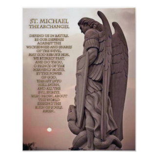 St. Michael the Archangel, Poster