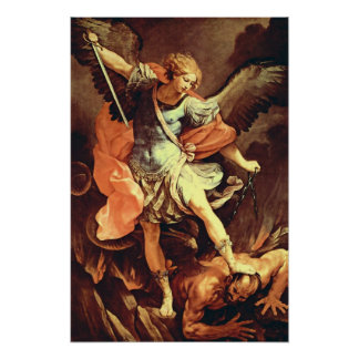 St Michael the Archangel Poster