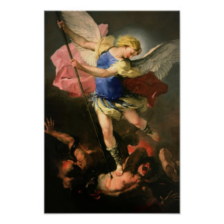 St Michael the Archangel Poster 21 B