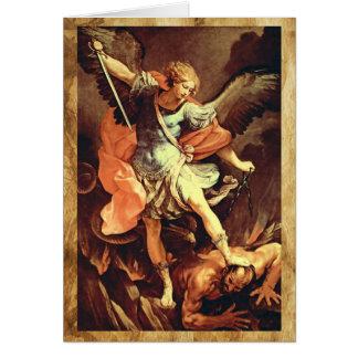 St. Michael the Archangel Prayer Greeting Card