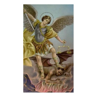 St. Michael the Archangel Prayer Card Double-Sided Standard Business Cards (Pack Of 100)