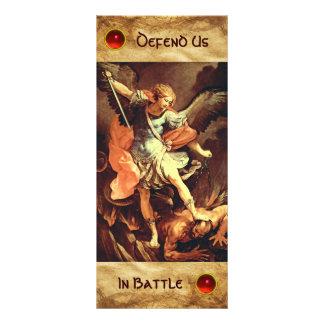 St. Michael the Archangel Prayer Card Rack Cards