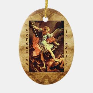 St. Michael the Archangel Prayer Ornament