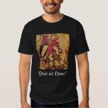 St. Michael the Archangel: Quis ut Deus? Tee Shirt
