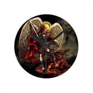 St. Michael the Archangel Round Clock