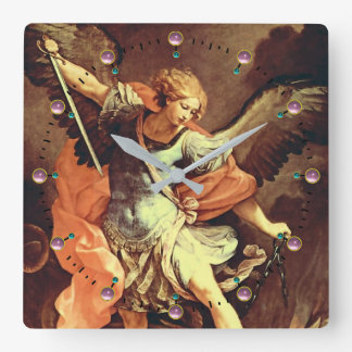 St. Michael the Archangel Square Wall Clock