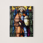 St. Michael The Archangel Stained Glass Window Puzzle