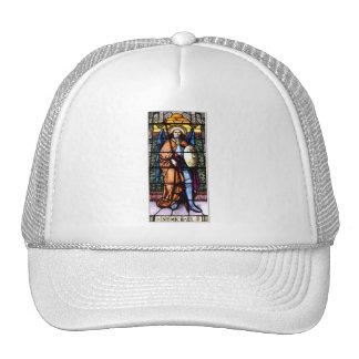 St. Michael The Archangel Stained Glass Window Trucker Hat