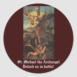 St. Michael the Archangel Stickers